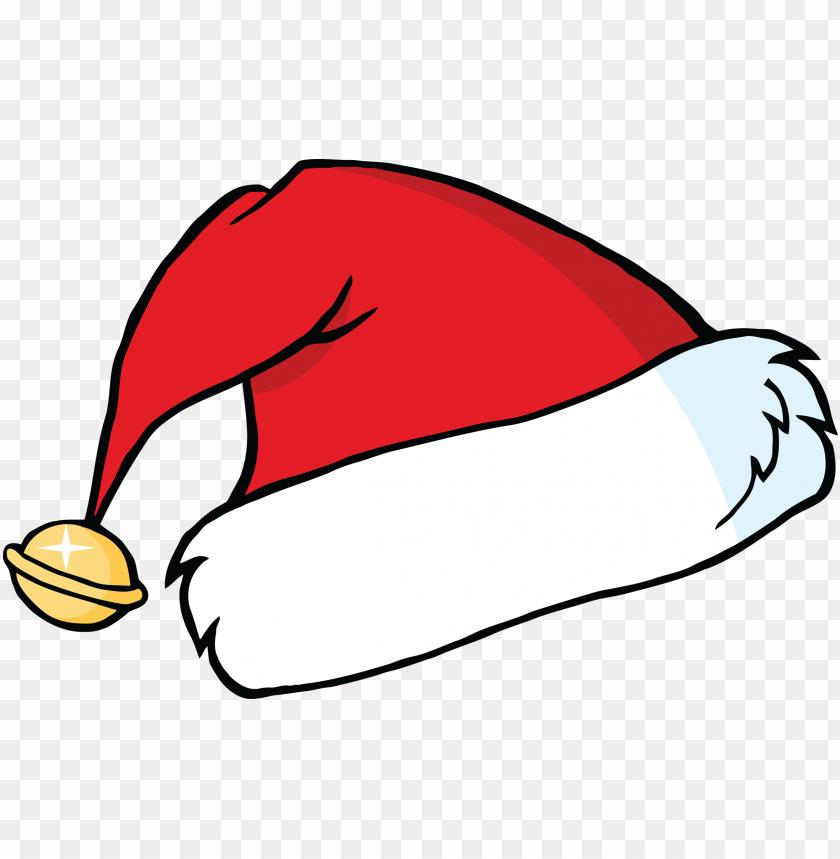 santa hat cartoon PNG Images png Free PNG Images