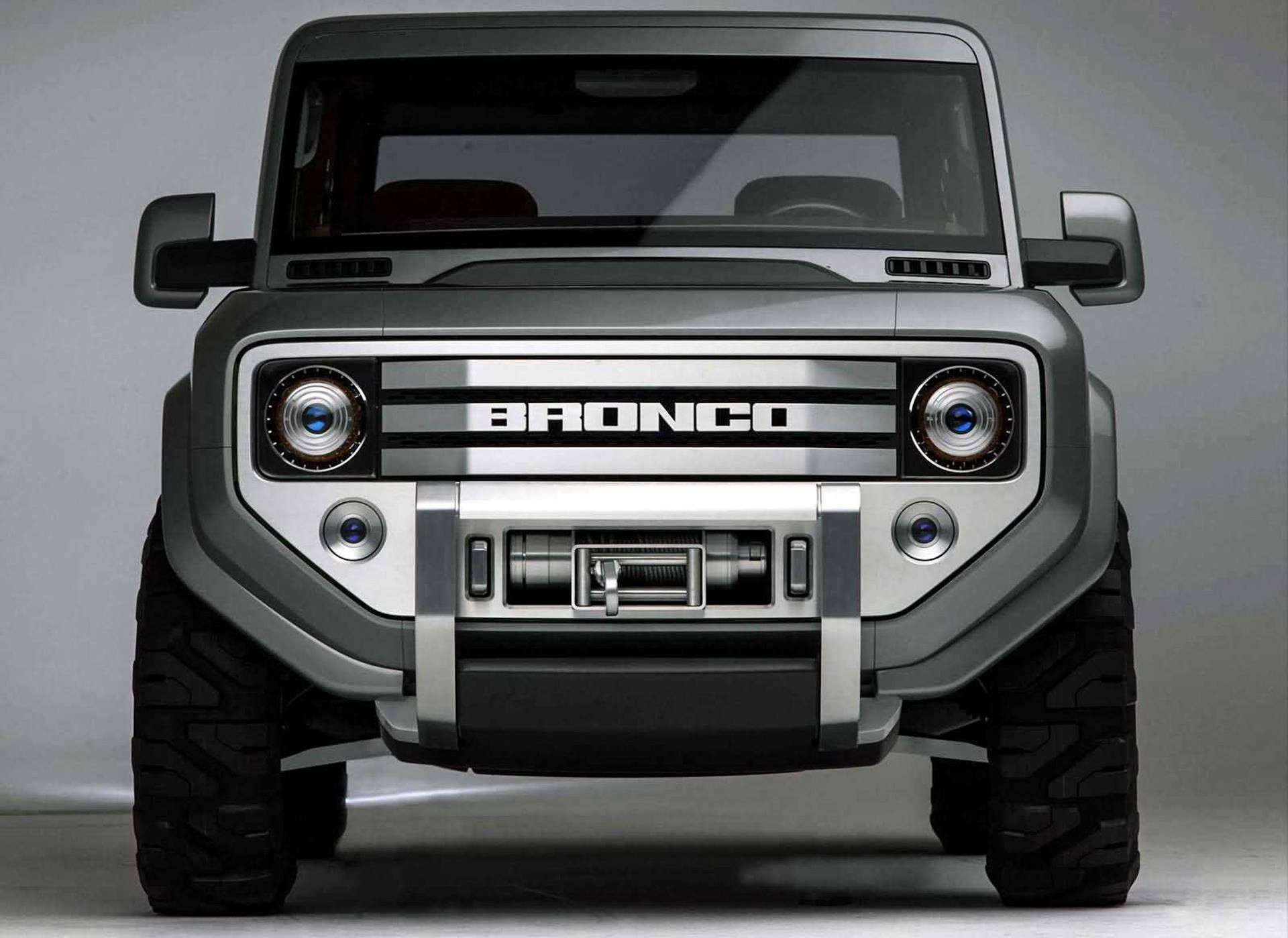 The Real Reason Why A Ford Bronco Concept Is In Dwayne Johnson S