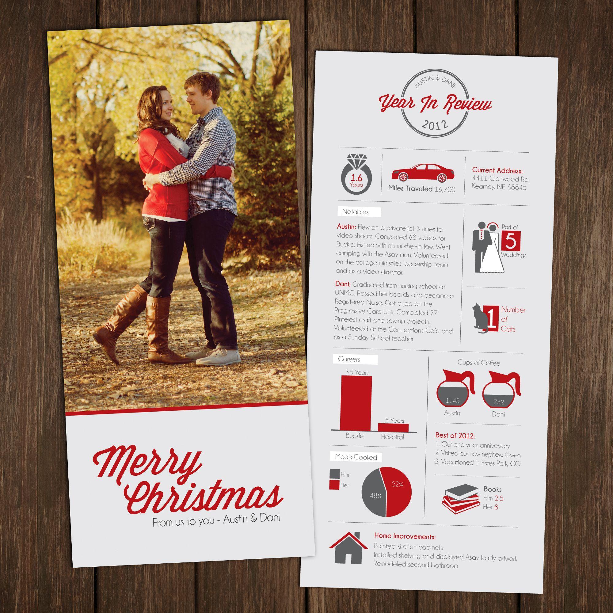 Asay Christmas Card 2012 Infographic