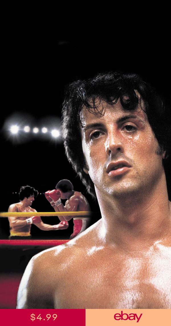 Rocky Ii 1979 Sylvester Stallone Movie Poster Print 3 Rocky Film Rocky Ii Rocky Balboa