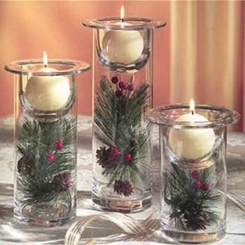 One More Thing Don T Forget To Display Your Favorite Candle Holder With Its Attra Christmas Centerpieces Diy Easy Christmas Diy Diy Christmas Decorations Easy