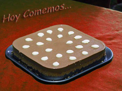Tarta De Chocolate Milka Hoy Comemos Receta Tarta De Chocolate Chocolate Milka Tartas