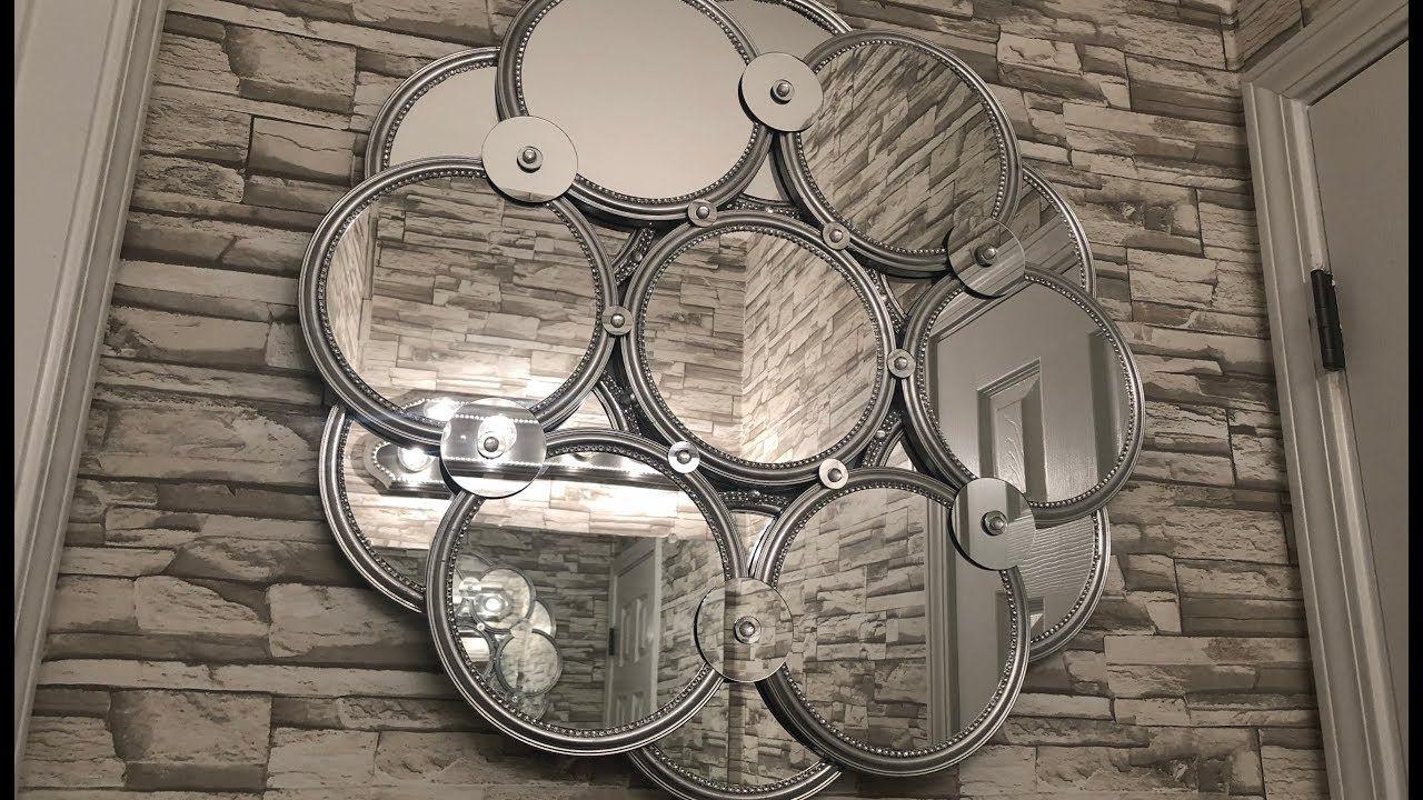 Dollar Tree Diy Huge 28 Decorative Wall Mirror Youtube Mirror Wall Bedroom Wall Mirror Diy Modern Mirror Wall