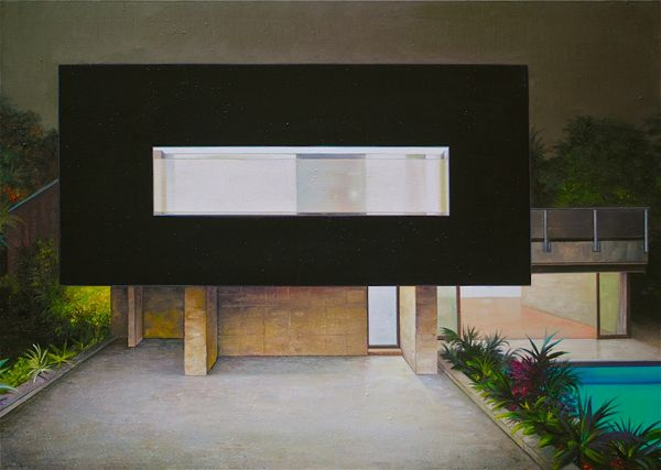 Jens Hausmann Modern Architecture Paintings 9 ART Pinterest