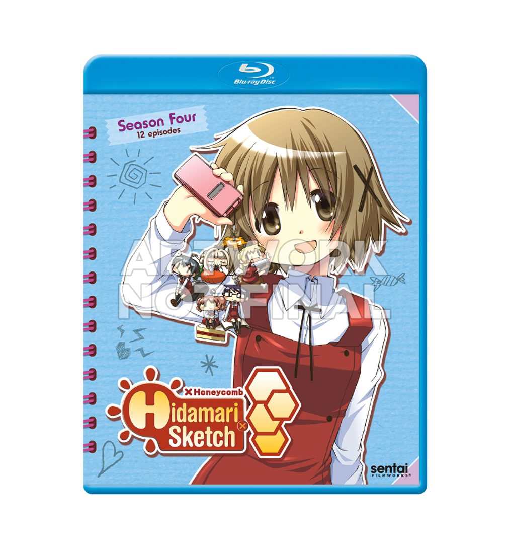 Hidamari Sketch X Honeycomb Is Finally Getting A Blu Ray Release Outside Of Japan In Auguest 8th But The Sae Hiro Graduation Zelda Characters Character Anime