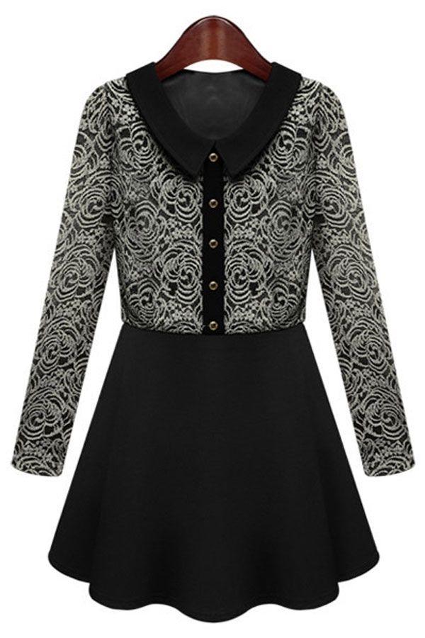 vintage-long-sleeve-lace-dress