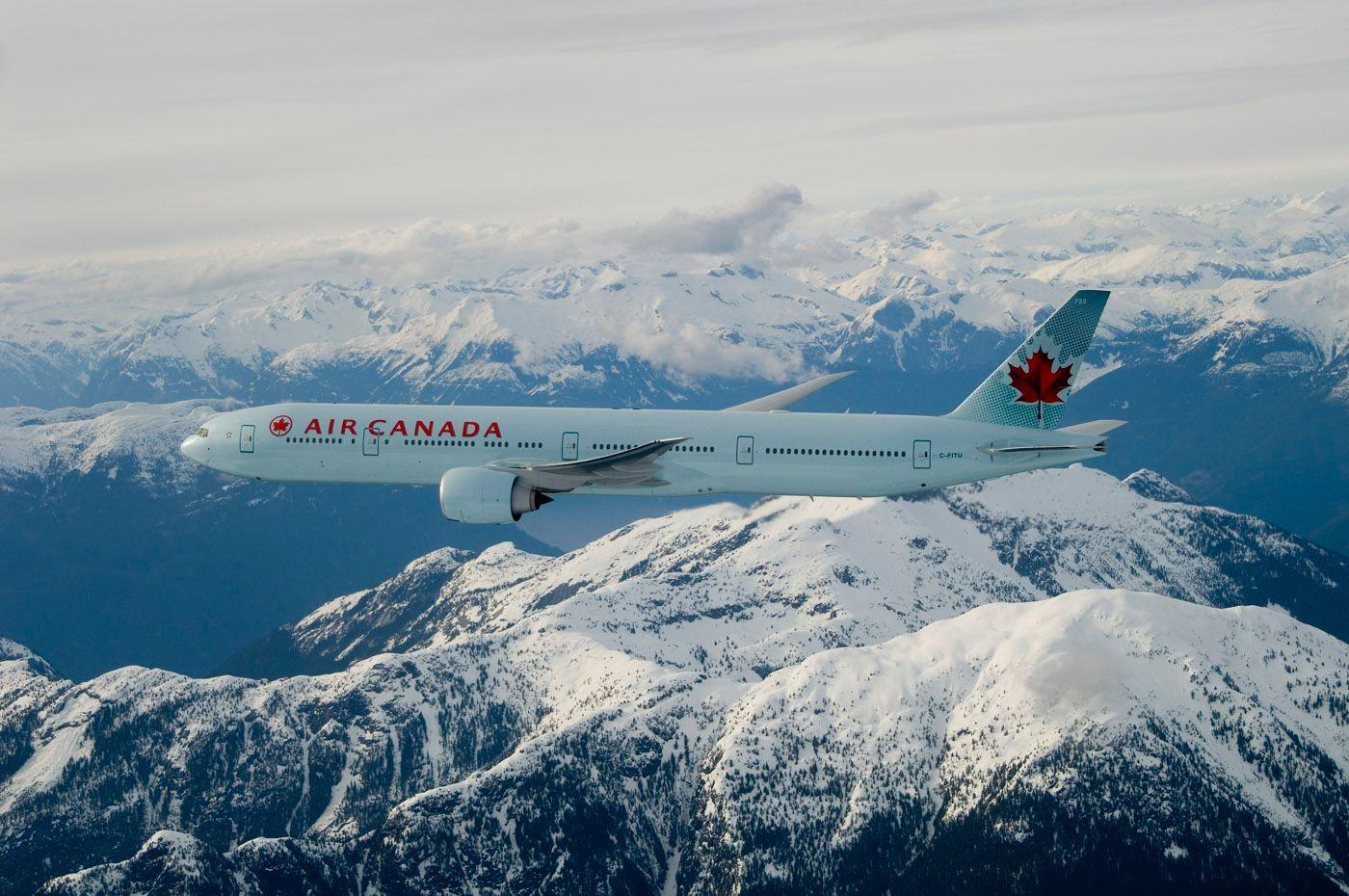 Boeing 777, Air Canada Airline of Canada Beautiful!!! 飛行機