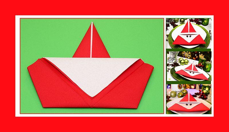 servietten falten weinachten weihnachtsmann papierservietten servietten falten servietten und