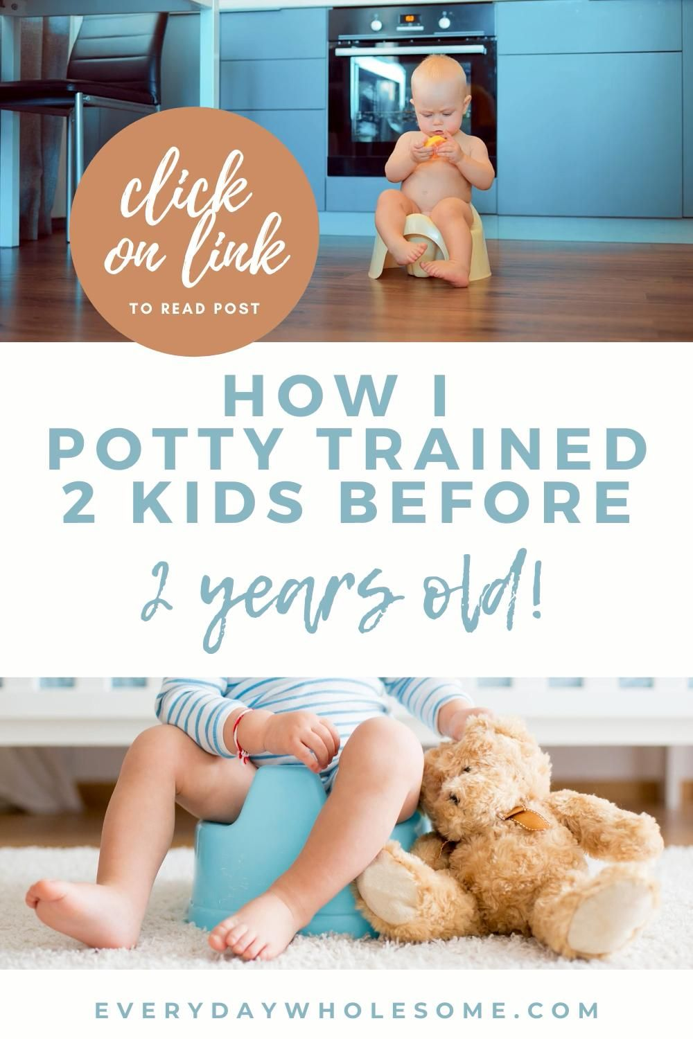 Potty training boys and girls stubborn early under