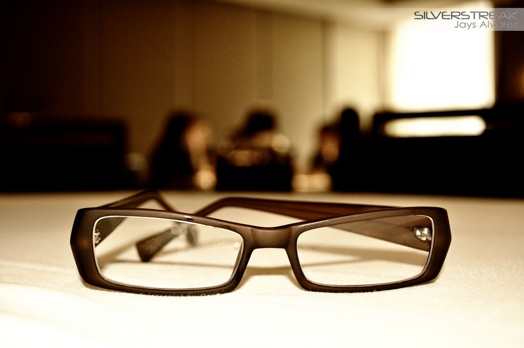 """I'm often asked, """"Are your glasses real?""""... Here's your answer... :o)"""