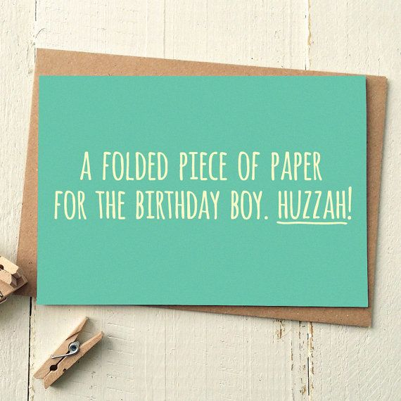 Birthday Card Boyfriend Birthday Card For Him Birthday: Funny Birthday Card