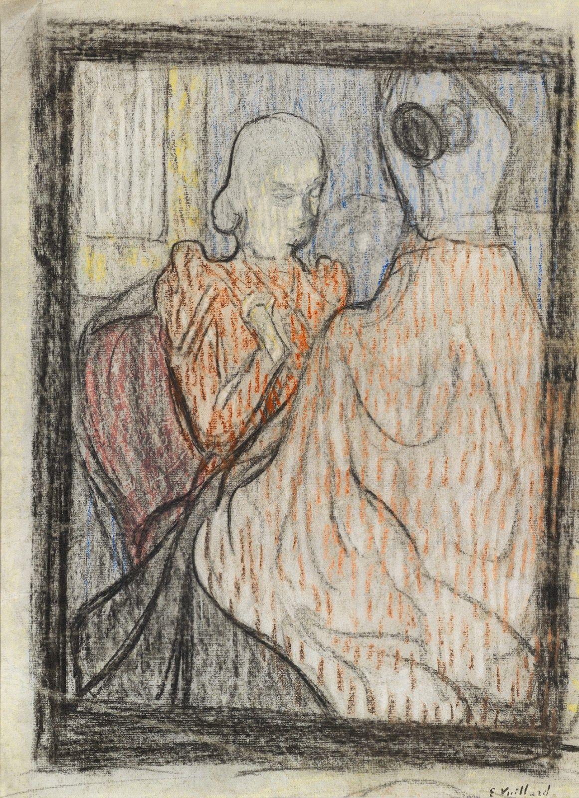 Edouard Vuillard The Dressmaker , 1891