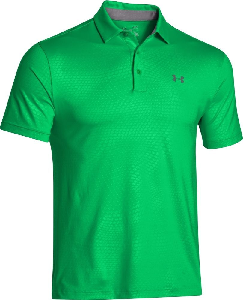 17d752dd UNDER ARMOUR UA NWT Playoff Polo Top Tech Golf Shirt M 2XL Green Energy  1253479 #Underarmour #PoloRugby