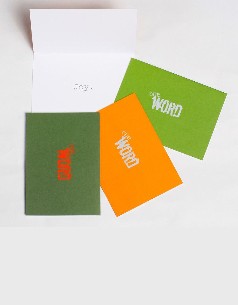 Logo Joy Pack Greeting Cards Products