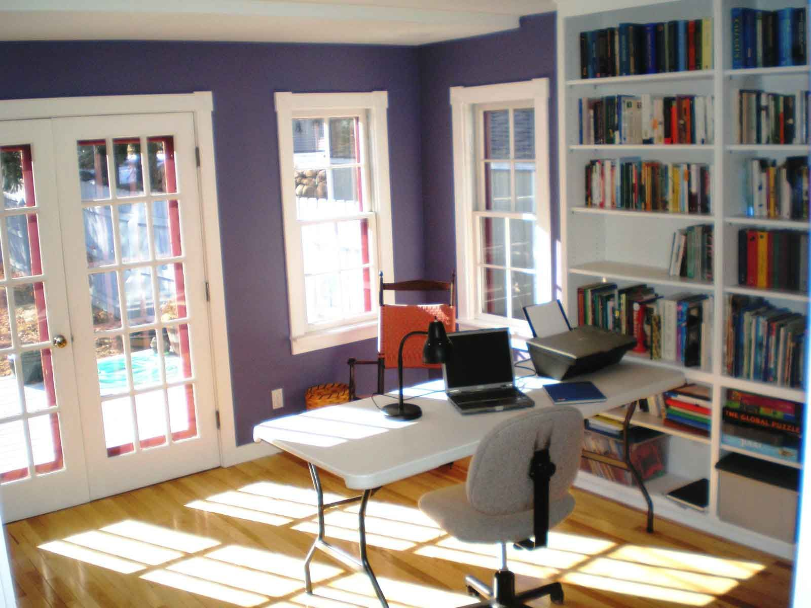 open space home office. Don\u0027t Forget To Use Color! Refeshing Open Space Design Ideas For Home Office A