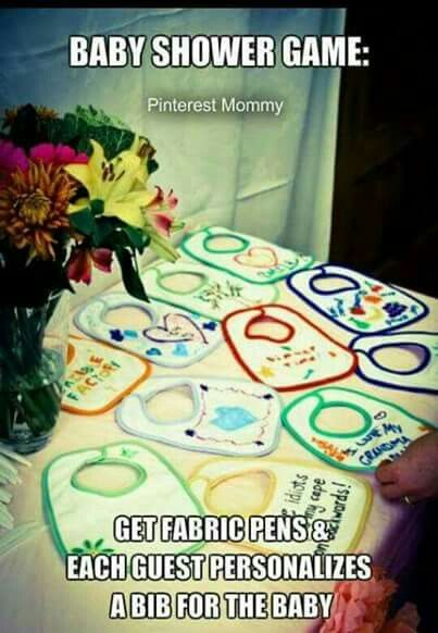 Cute Idea Baby Shower Game Gift Party Ideas