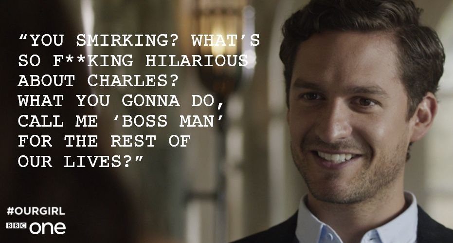 Our Girl- quotes of note Our Girl Bbc, Ben Aldridge, Girl Quotes,