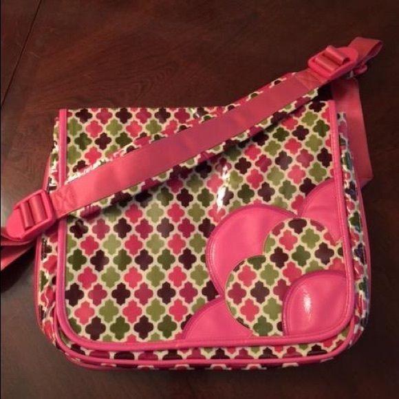 Vera Bradley messenger bag Vera Bradley messenger bag. Nwot. Great for school! Vera Bradley Bags
