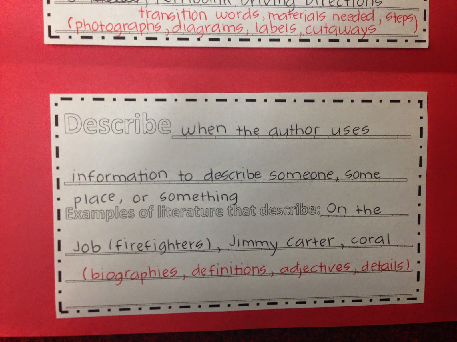 Author's Purpose for Informational Texts