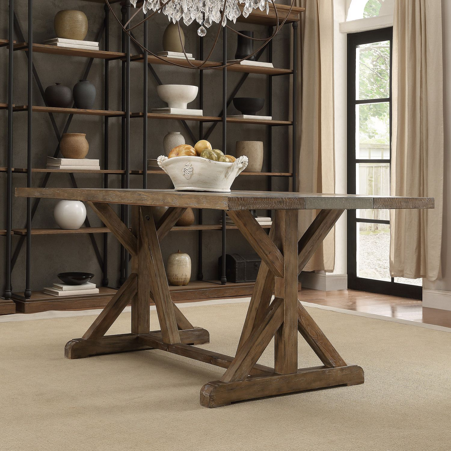 Lark Manor Phalangere Dining Table Reviews Wayfair Dining