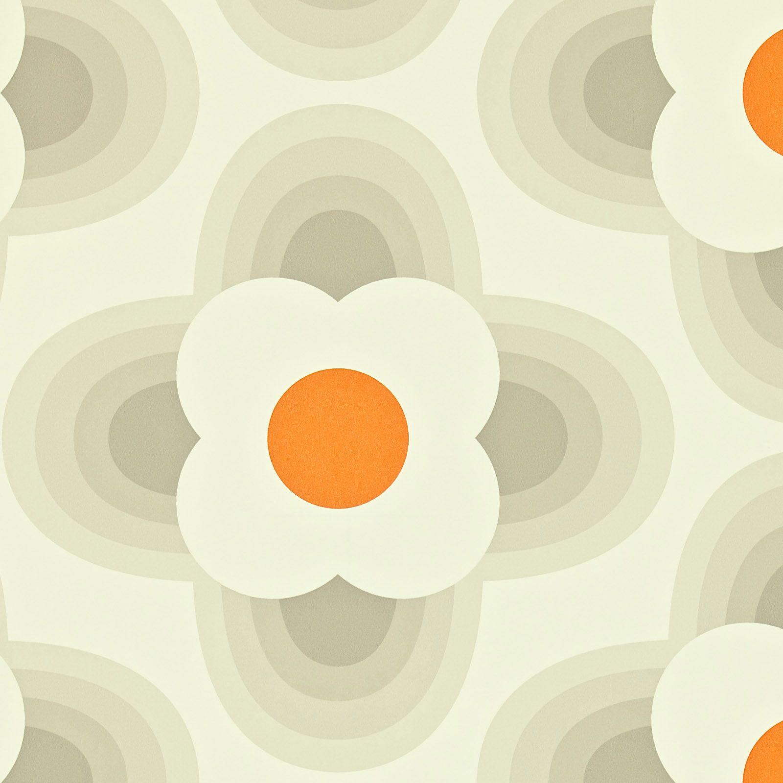 Orla kiely orla kiely striped petal print wallpaper hanging