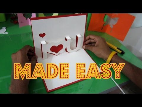 Heart Explosion Box Learn How To Make An Easy Exploding Heart Gift Box From Templates Ezy Anniversary Cards Handmade Greeting Cards Diy Handmade Bday Cards