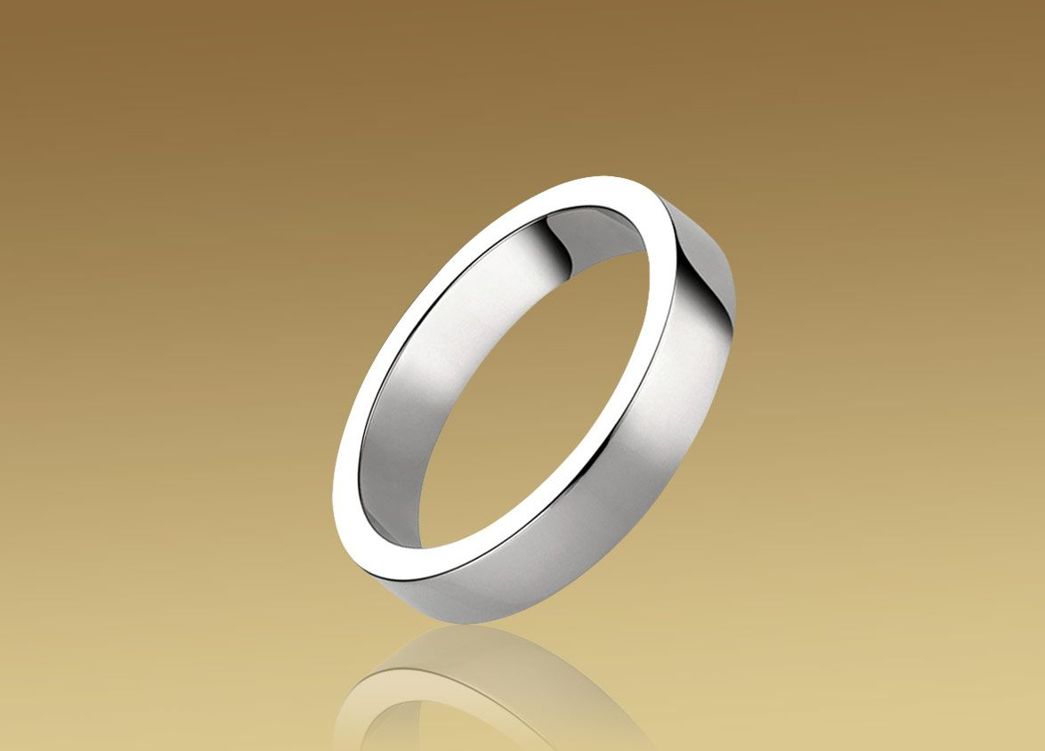 Bvlgari Marryme Wedding Band In Platinum Platinum Wedding