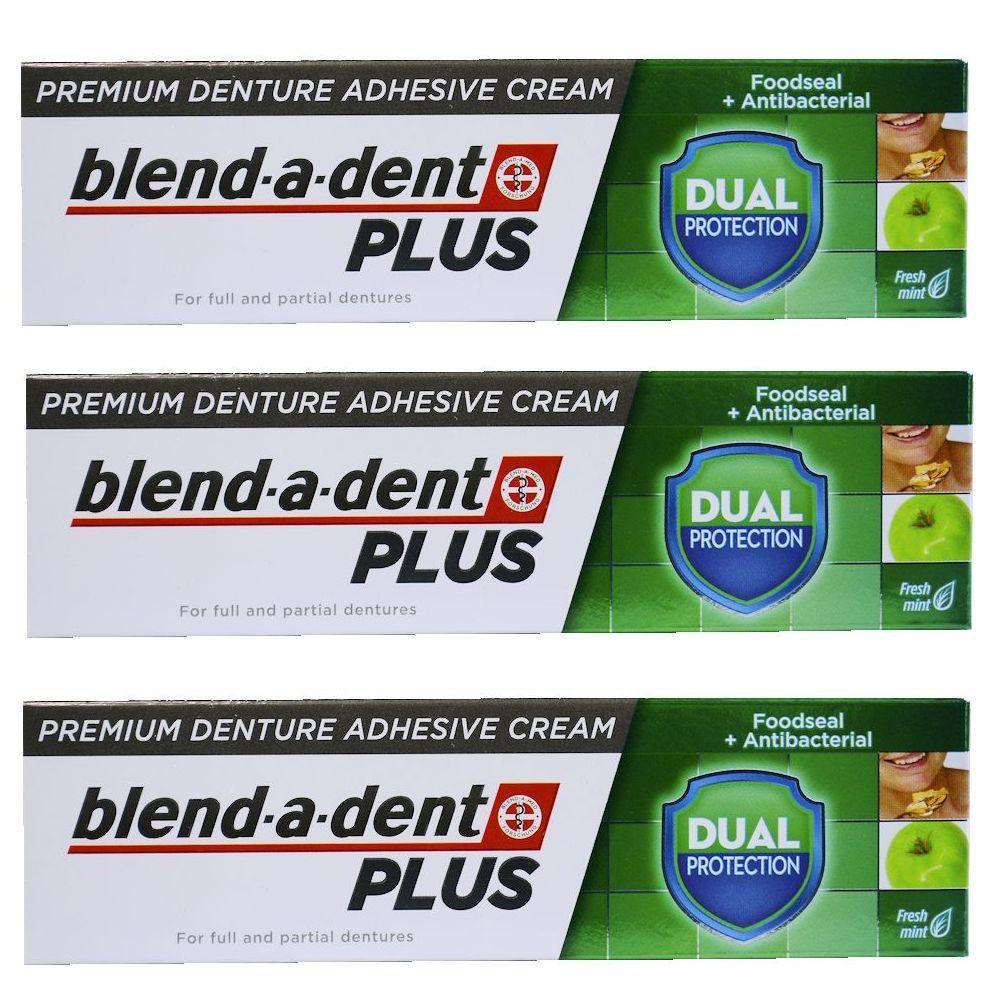 This Is Original High Quality German Blend A Dent Plus Premium Denture Adhesive Cream Dual Protection Food Seal A Denture Denture Adhesive Partial Dentures
