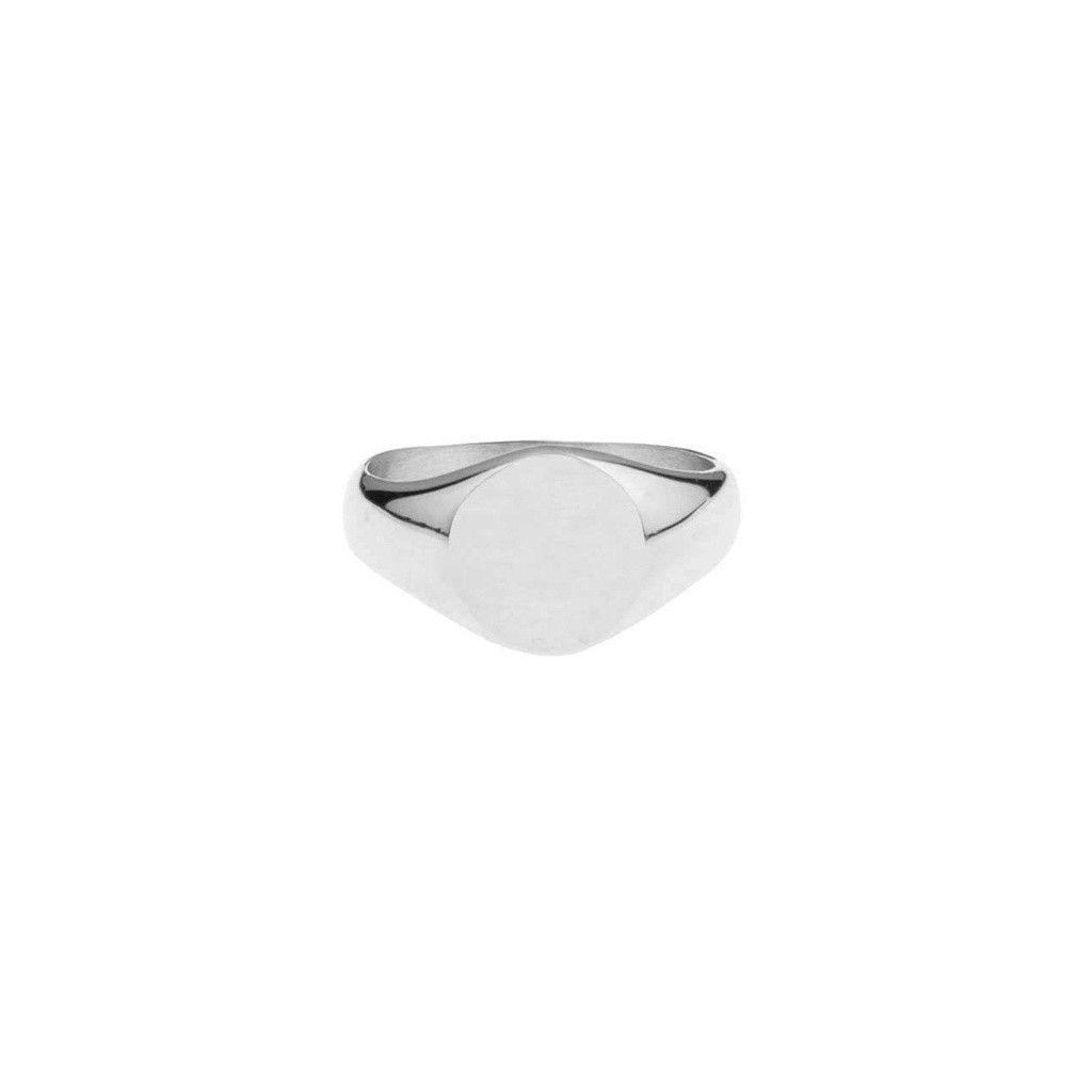 Mister Crest Ring - Chrome