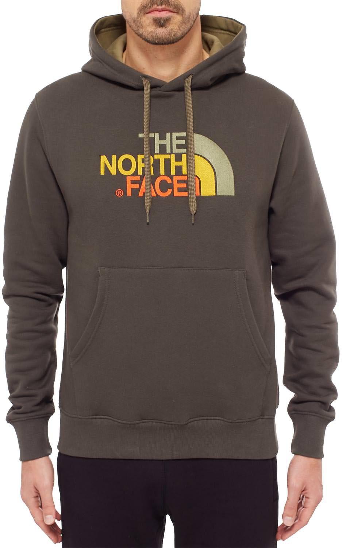 Felpa The North Face Drew Peak Hoodie Black Ink Green  69e00573bed0