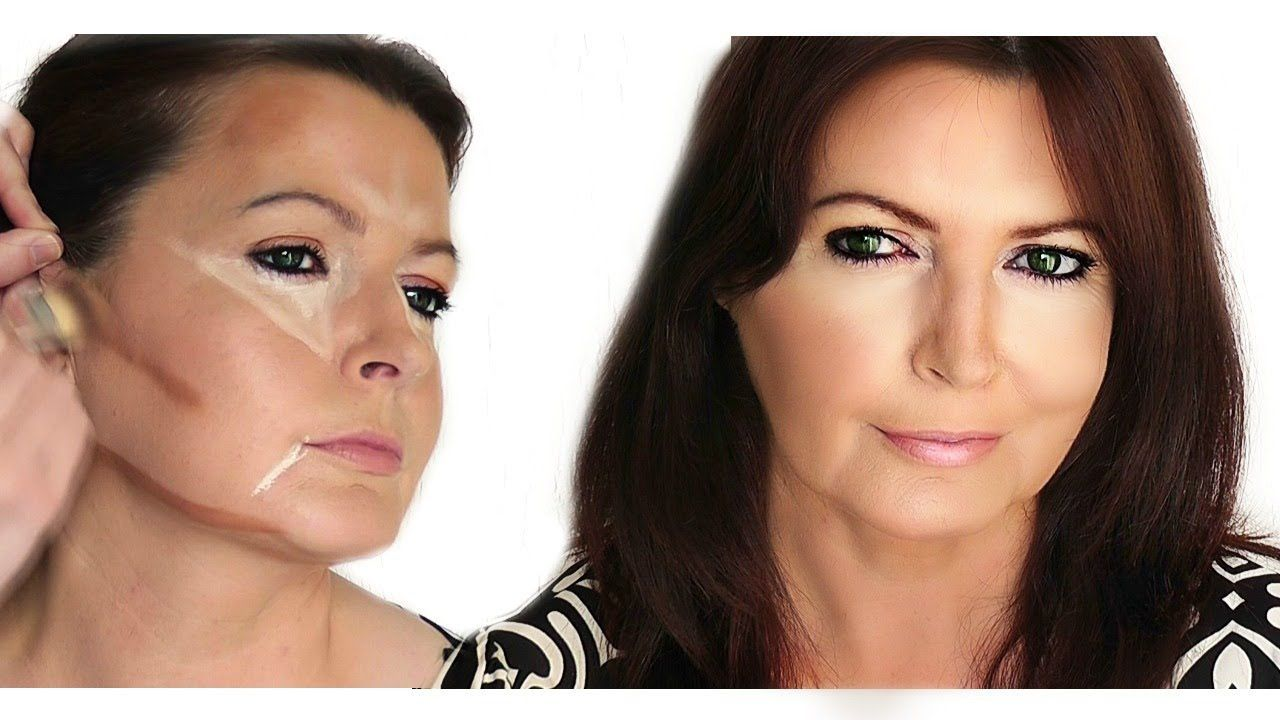 This video is a follow on to my other tutorial, showing you subtle differences to make it work for mature faces that may have shadows or droopy skin that the...
