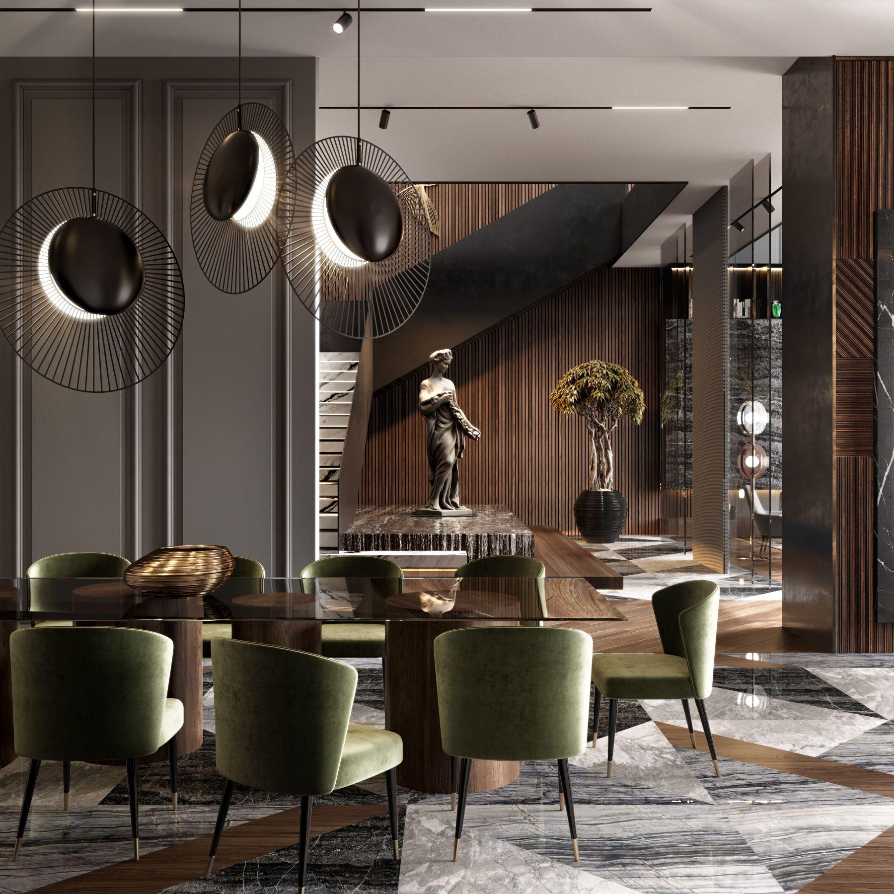 Luxury Master Bedroom Dubai On Behance: RESIDENTIAL HOUSE IN DUBAI. SPACES/ARCHITECTS On Behance