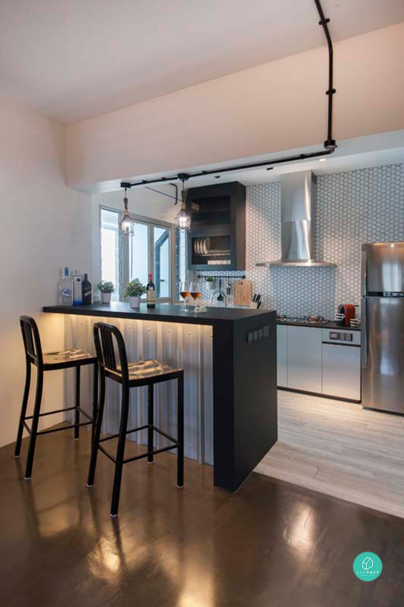 12 Must See Ideas For Your 4 Room 5 Room HDB Renovation kitchen