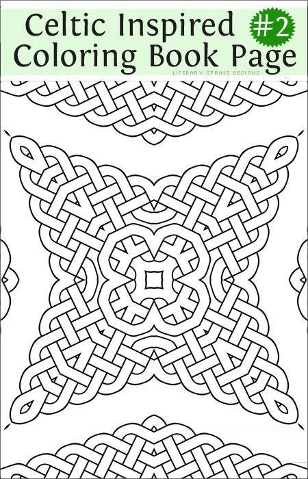 Fancy Celtic Coloring: The Sequel   Fancy, Books and Celtic knots