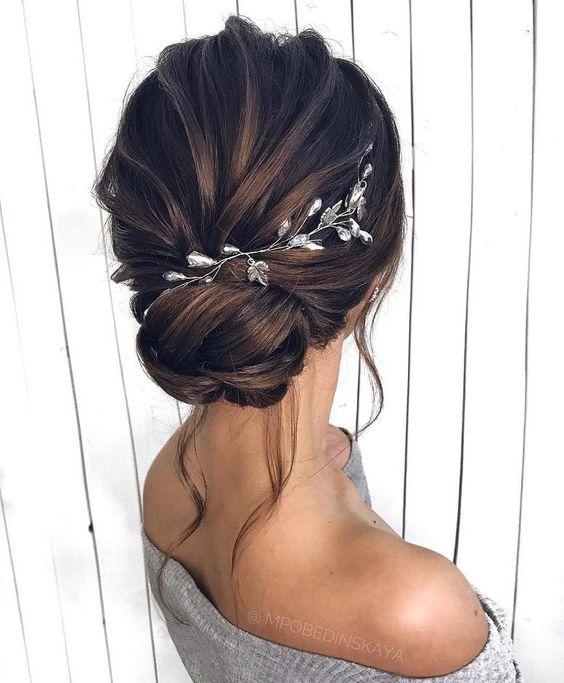Photo of Updos, peinados de novia, peinado de novia para cabello largo # para #ha …