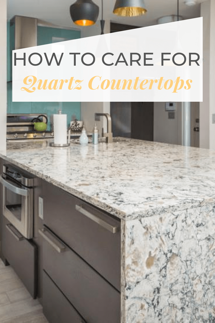 How To Care For Quartz Countertops Sol Granite Clean Quartz Countertops Quartz Countertops Countertops