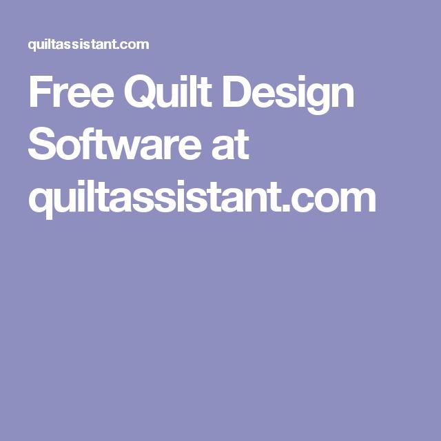 Free Quilt Design Software At Quiltassistant Quilt Tools