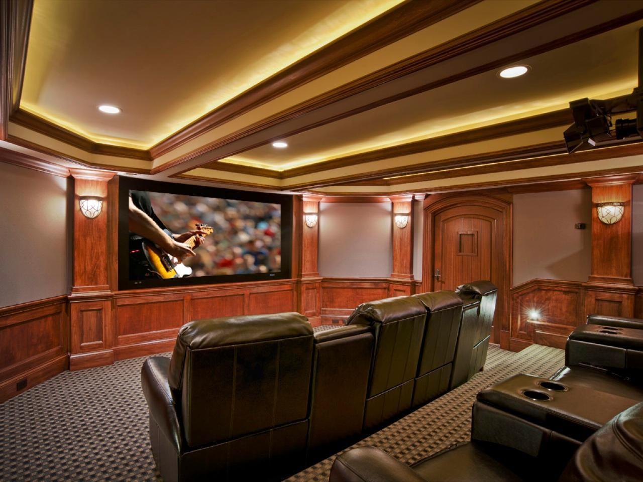 Basement home theater ideas, DIY, small spaces, budget, medium ...