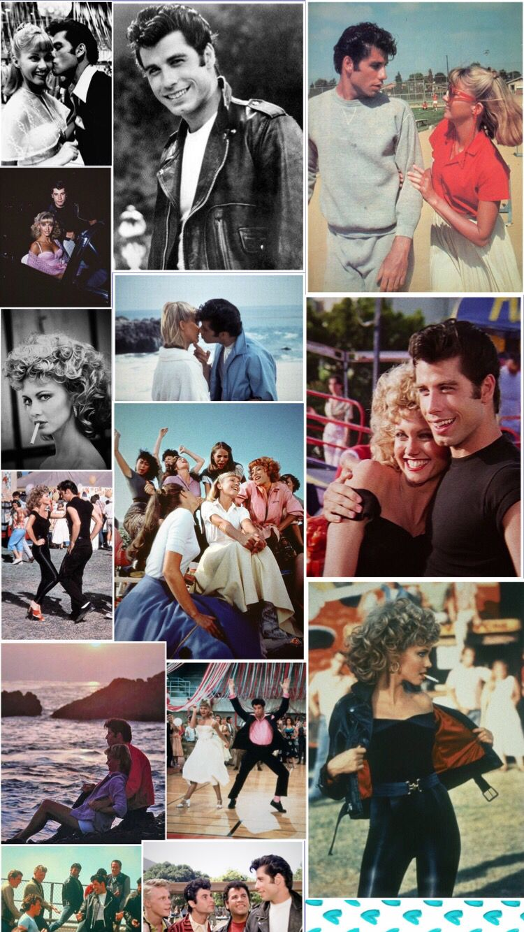 Grease Background Sandy Danny Iphone Wallpaper Vintage Wallpapers Vintage Background