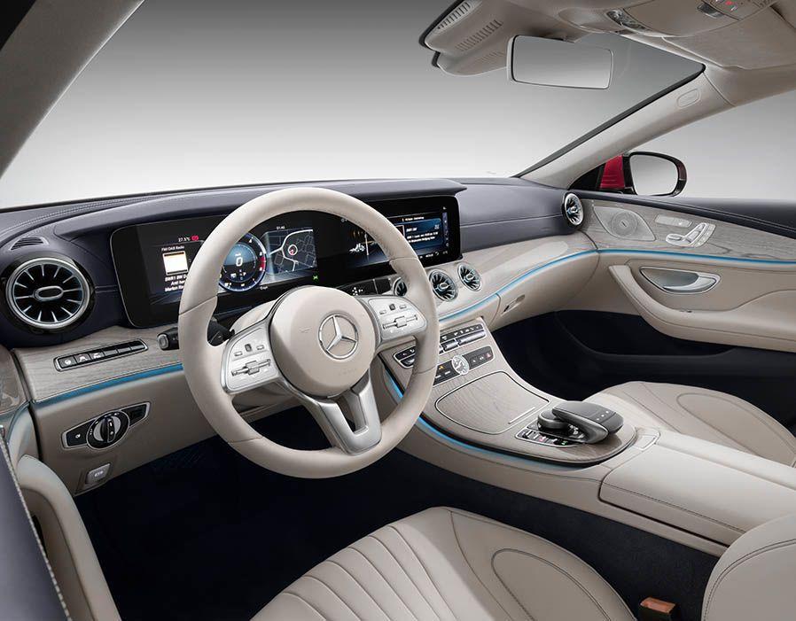 Mercedes Cls 2018 Interior In Pictures Vehicle Interior