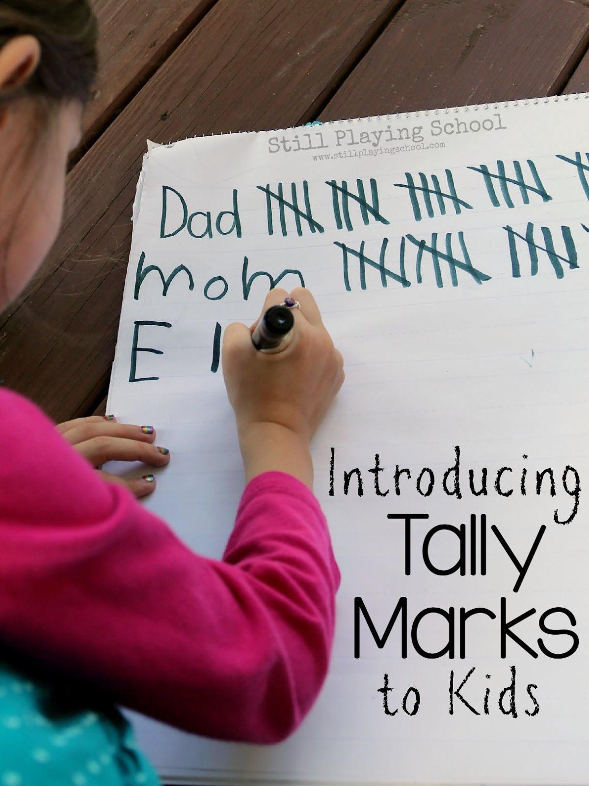 Tally Mark Math For Kids