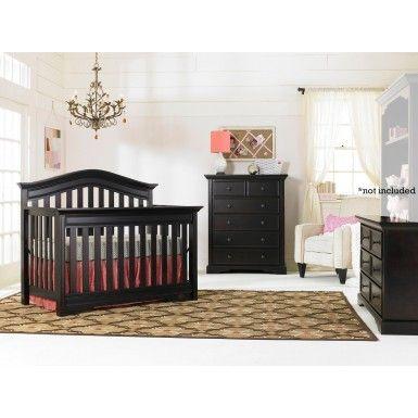 Bonavita Westfield 3 Piece Nursery Set In Espresso Crib