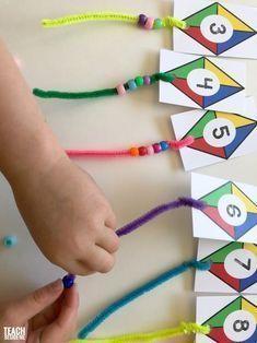 Kite Themed Preschool Math  Kite Themed Preschool Math  Teach Beside Me