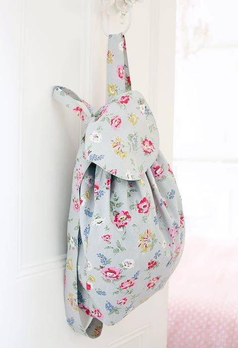 Print How to sew a simple backpack :: Free sewing patterns | Telas ...