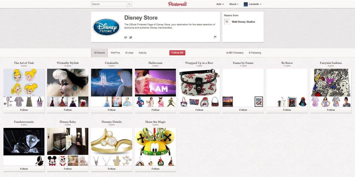 Ook het verkopen/aanbieden van producten behoort tot de mogelijkheden van Pinterest