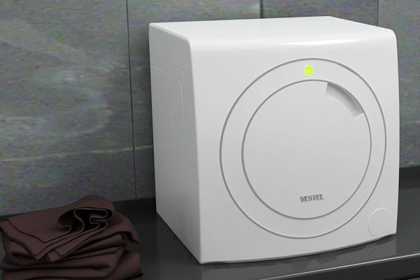 Anello Is A Counter Top Mini Washing Machine Designed For Singles