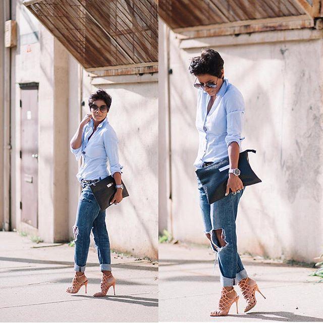 Blog post 8.24 Boyfriend Jeans & Juliana's #sotd #schutz #streetfashion #ootd