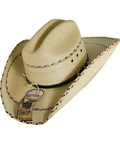 Palm leaf Cattleman straw hat 2a7e2b6e7aa