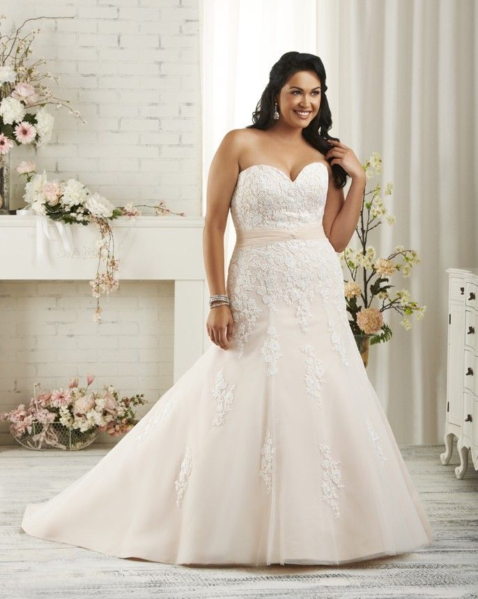 Plus-Size Wedding Dresses That Are Absolutely Gorgeous   The ...