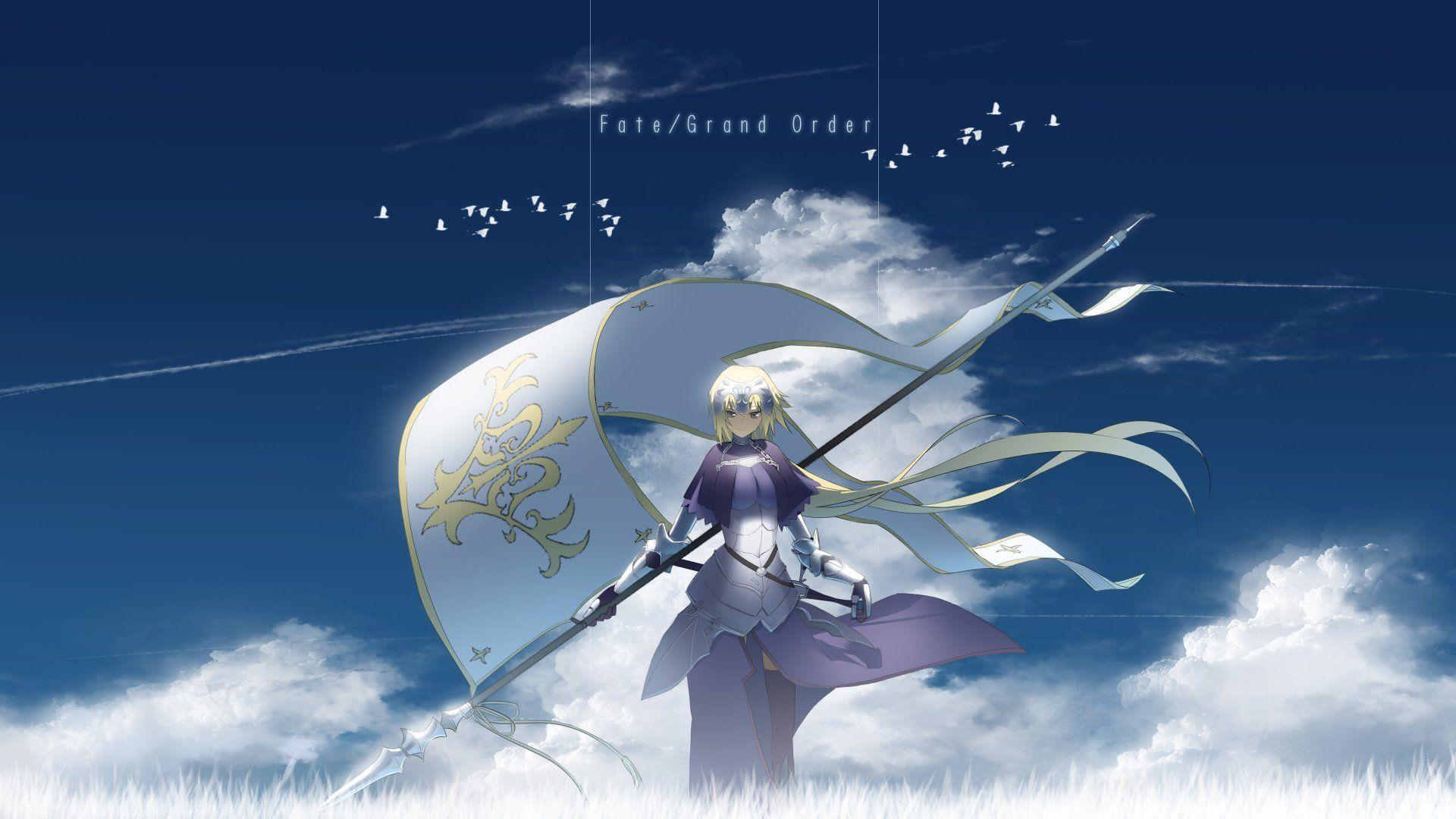 Anime Fate Grand Order Ruler Fate Apocrypha Ruler Fate Grand